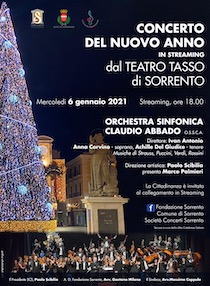 Da Sorrento diretta streaming del concerto dell'orchestra Abbado