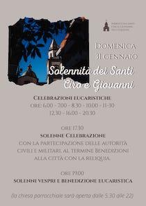 Domani la festa patronale di Vico Equense, programma