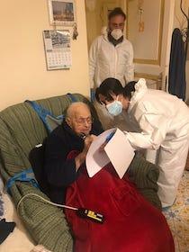 A Piano di Sorrento 3 contagi e 5 guariti, vaccinati gli ospiti della casa di riposo