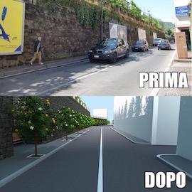 Il corso Italia tra Sorrento e Sant'Agnello chiuso anche a Pasqua