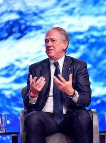 Pierfrancesco Vago di Msc Crociere nuovo presidente di Clia