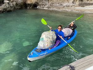 Parco marino e volontari stranieri ripuliscono Crapolla