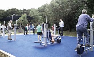 A Sorrento uno spazio attrezzato per lo sport all'aria aperta