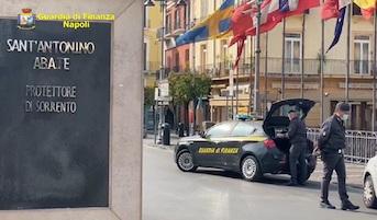 Controlli e sanzioni della Guardia di Finanza a Sorrento e dintorni – foto –