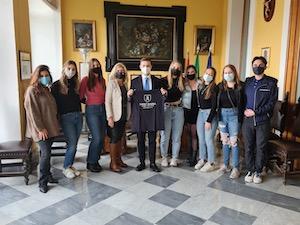 Studenti Usa in visita al Comune di Sorrento