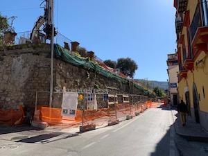 Ancora chiuso il corso Italia a Sorrento, ecco quando apre