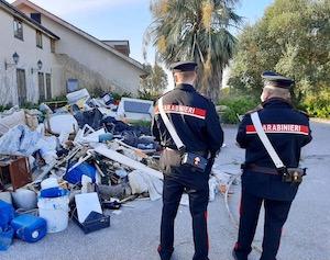 Discarica abusiva di rifiuti speciali individuata a Piano di Sorrento