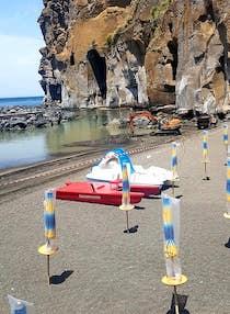 Al via il ripascimento della Marina di Cassano, spiaggia chiusa