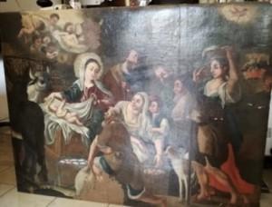 Torna al suo posto quadro rubato in chiesa a Massa Lubrense