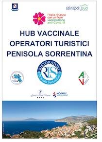 A Sorrento apre l'hub vaccinale di ristoranti, agenzie e guide