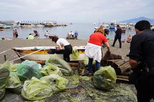 A Sorrento per la Giornata del Mare rimossa una tonnellata di rifiuti – video –