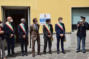 Il questore di Napoli inaugura il nuovo Ufficio denunce del commissariato di Sorrento – video –