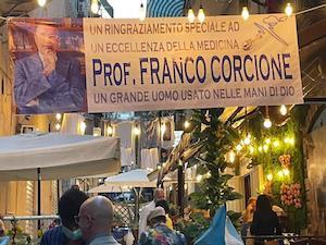 Singolare riconoscimento per il prof Franco Corcione