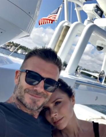 Disavventura ad Amalfi per David Beckham