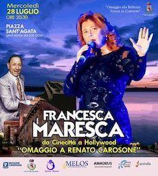 Maltempo, rinviato il concerto di Francesca Maresca omaggio a Renato Carosone a Sant'Agata sui due Golfi