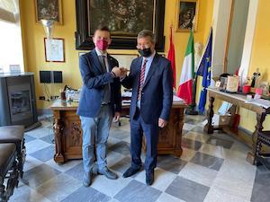 Il console del Marocco in visita a Sorrento