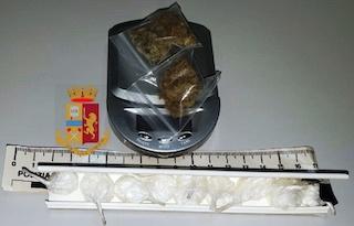 Con droga in auto fanno incidente a Sorrento, denunciati – foto –