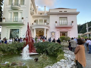 A Villa Fiorentino inaugurato il SyArt Sorrento Festival 2021 – foto –