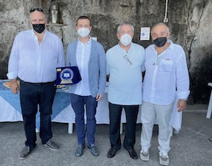 Donazione del Circolo Nautico Riviera Massa all'ospedale di Sorrento