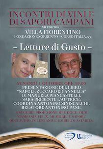 """A Sorrento presentazione del libro """"Napoli, zuccaro & cannella"""" di Manuela Piancastelli"""