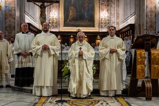 Questa sera l'ordinazione dei nuovi sacerdoti a Sorrento
