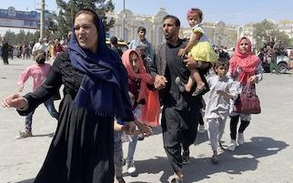 Raccolta di beni di prima necessità per i rifugiati dell'Afghanistan