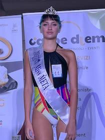 Vittoria Esposito, da Vico Equense alla finale di Miss Ondina Sport