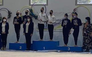 Atlete di Sorrento alle finali nazionali di ginnastica