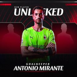 Prima di approdare al Milan allenamenti col Sorrento per Mirante